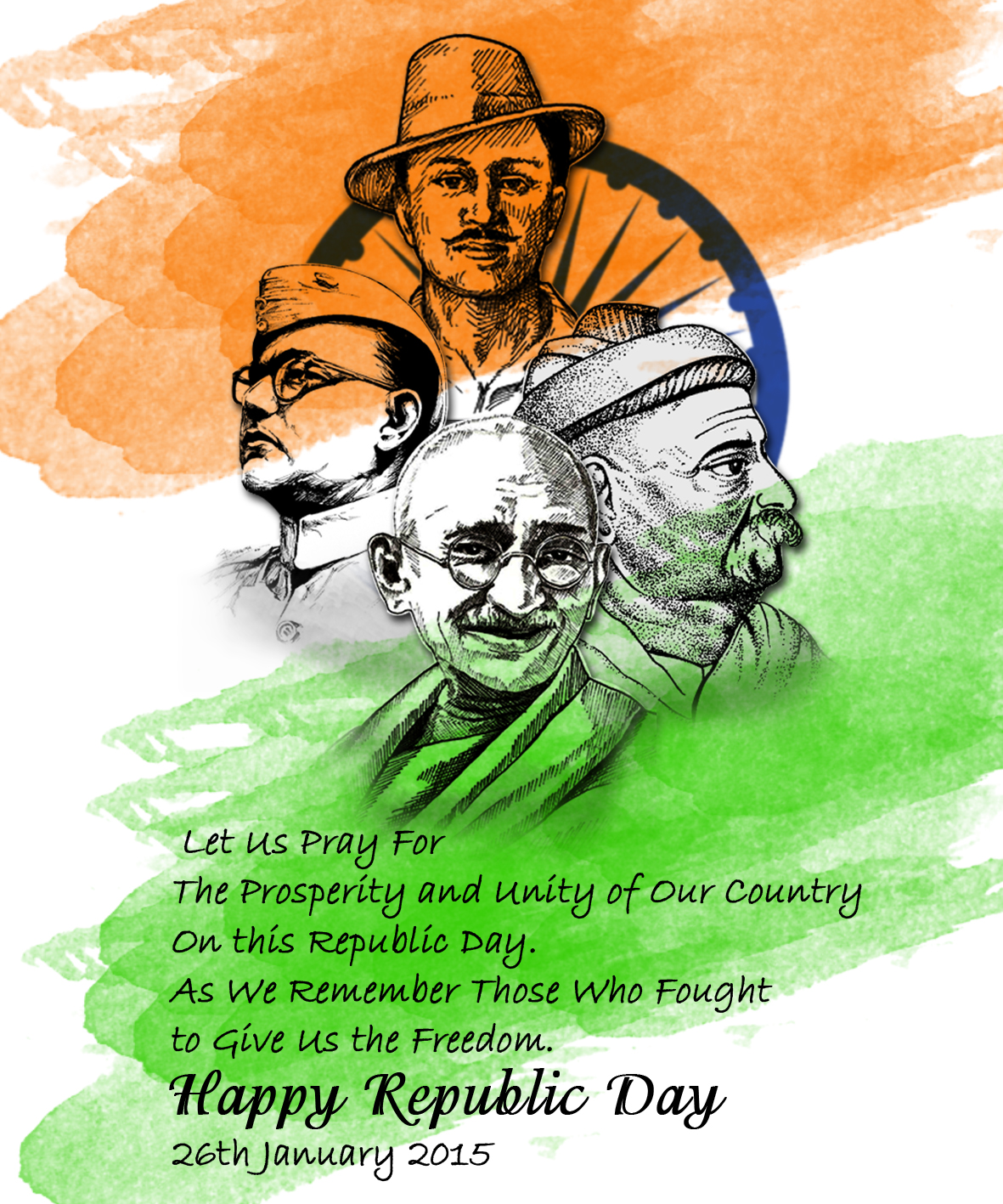 Happy Republic Day Folks! Lets build a strong and learned Nation!