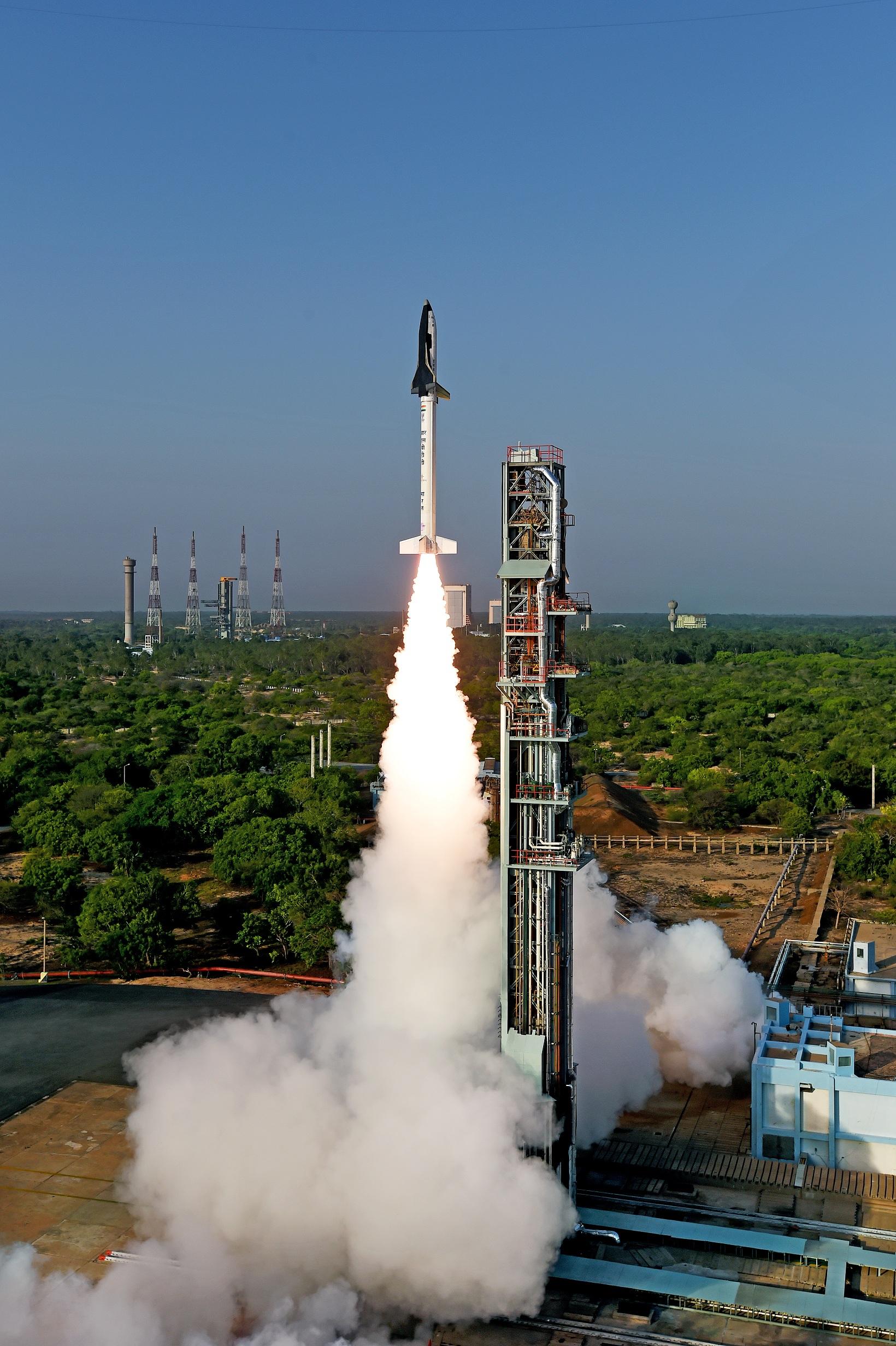 isro RLV liftoff