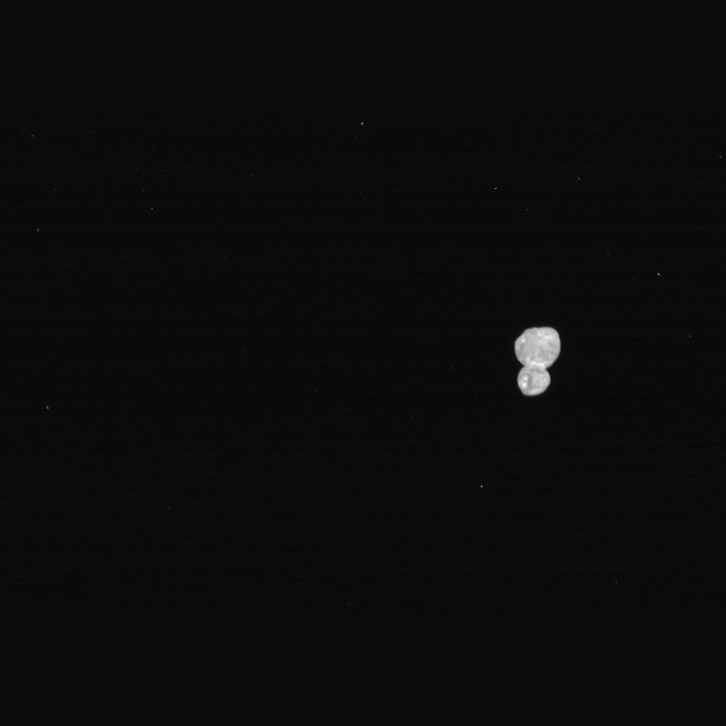 New Horizons LORRI instrument took this picture of Ultima Thule on Jan 1 2019